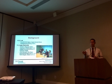 USC SSI Faculty Member Andrew Marks speaks at the URISA GIS-Pro Conference