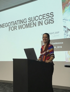 negotiating success for women in gis